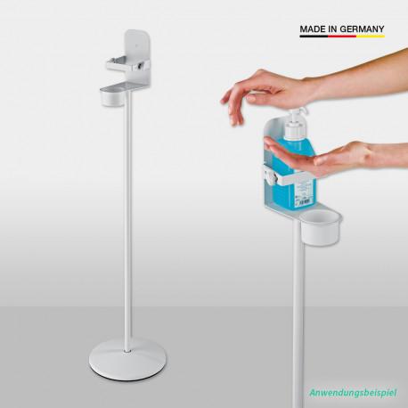 80310 Desinfektionsmittelständer mit Klemmbügel