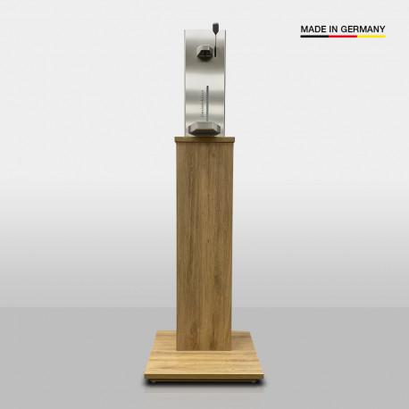 Desinfektionsstation Premium (Edelstahl / Holz)