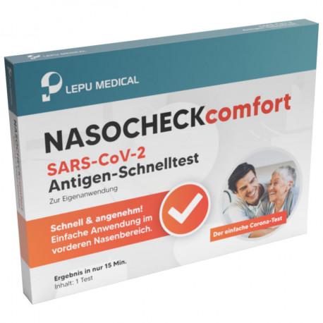 NASOCHECK comfort SARS-CoV-2-Antigen-Schnelltest (Einzeln verpackt)