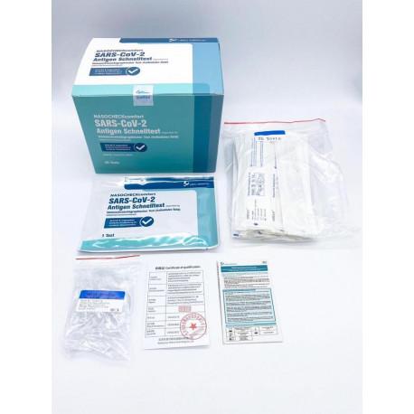 NASOCHECK comfort SARS-CoV-2-Antigen-Schnelltest (25 Stück / VE)