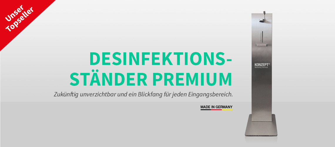 Design-Desinfektionsspender